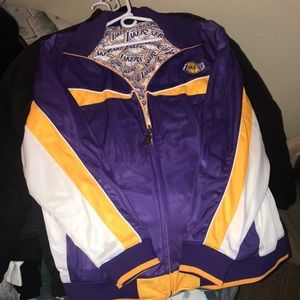 Lakers reversible jacket zip up